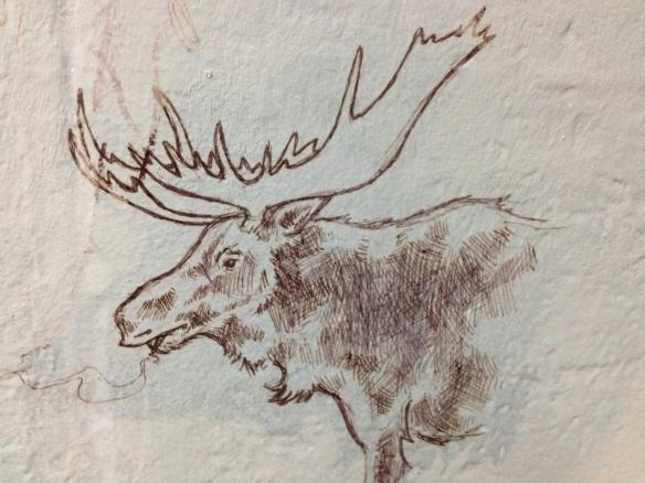 Featured Graffiti: Smoking Moose
