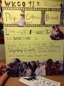 Pop Culture Brunch Oscar